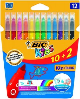 Flamaster Bic Kids Kid Couleur 10+2 12 kol. (920294)