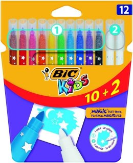 Flamaster Bic Kids Colour & Erase 12 kol. (920295)