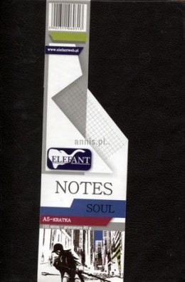 Notes Elefant Soul A5 192k. krata 148 mm x 105 mm (5902311060313)