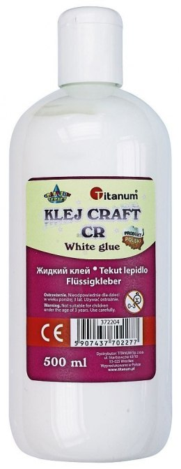 Klej w płynie Titanum Craft-fun 500 ml (K-500)