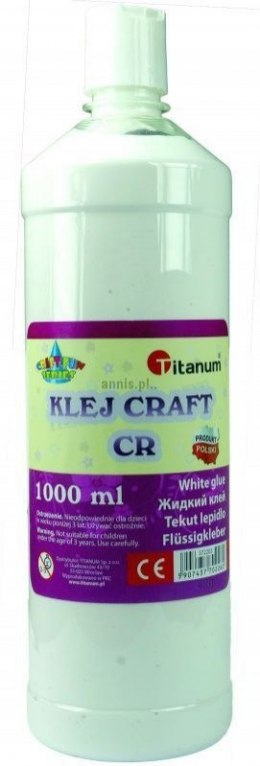 Klej w płynie Titanum Craft-fun Craft CR 1000 ml (K-1000)