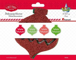 Bombki Titanum Craft-fun Craft-Fun Series bombka filcowa (5693b)